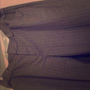 Pinstriped dress pant